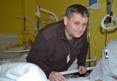 Práce kaplana Nemocnice Valašské Meziříčí je kolem Vánoc náročnější. Na lidi doléhá samota více než jindy