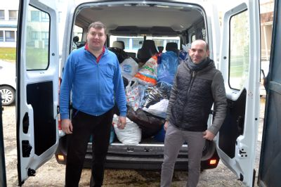 Zaměstnanci Nemocnice Valašské Meziříčí sbírali oblečení pro charitu