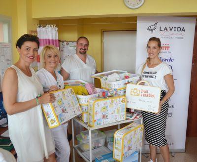 V Nemocnici Valašské Meziříčí odstartoval projekt Život v kufříku