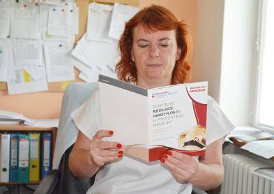 Nemocnice Valašské Meziříčí šíří zdravotní gramotnost a vzdělává své pacienty