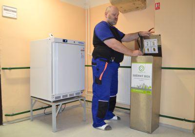 """""""Zelená"""" Nemocnice Valašské Meziříčí již zlikvidovala 4,5 tuny elektroodpadu"""