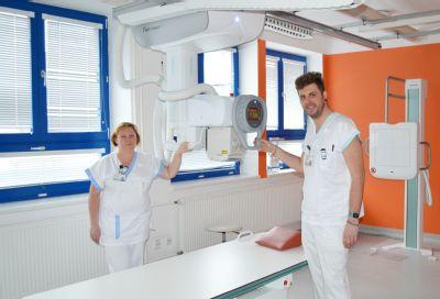 Radiodiagnostické oddělení Nemocnice Valašské Meziříčí má ve svém portfoliu nový skiagraf