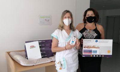 Novorozenecké oddělení Nemocnice AGEL Valašské Meziříčí převzalo šest nových přístrojů pro bezpečný spánek novorozenců
