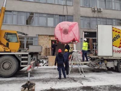 Stavební práce na novém pracovišti magnetické rezonance Nemocnice AGEL Valašské Meziříčí finišují