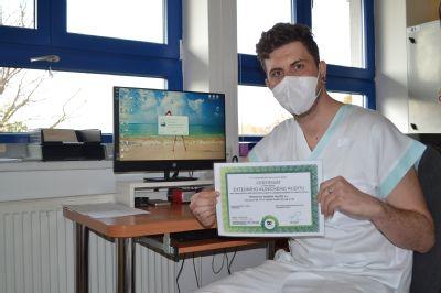 Radiodiagnostické oddělení Nemocnice AGEL Valašské Meziříčí prošlo vdobě koronavirové epidemie náročným auditem