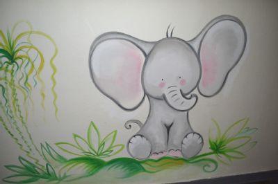 Malé pacienty doprovází na dětské oddělení Nemocnice AGEL Valašské Meziříčí originální a veselé kresby zvířat